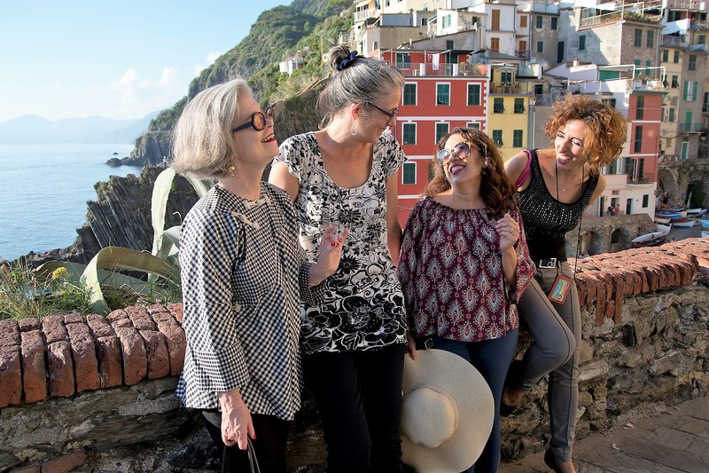 Author Susan Van Allen leads Golden Week: For Women Only, in the Italian Riviera and Florence