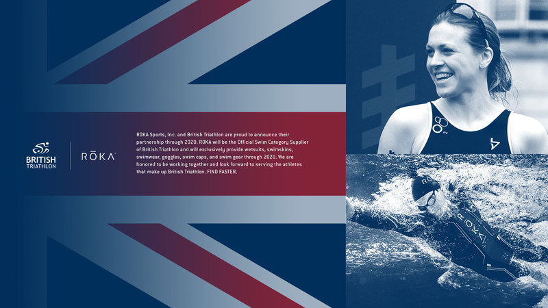 ROKA PARTNERS WITH BRITISH TRIATHLON