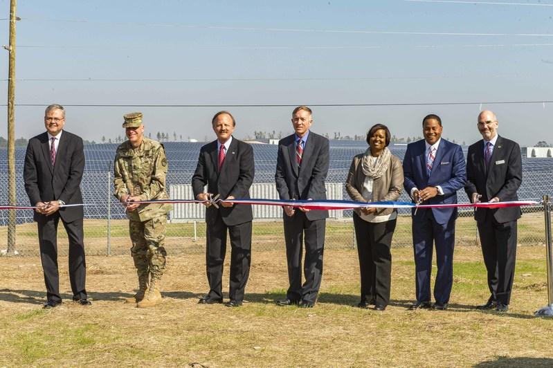 Georgia Power dedicates its 30 MW Fort Gordon solar facility in November 2016