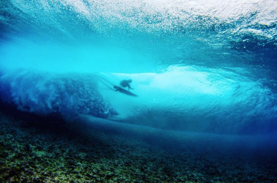 Hydro Flask Influencer and WSL Surfer Ian Walsh, Photo by Zak Noyle