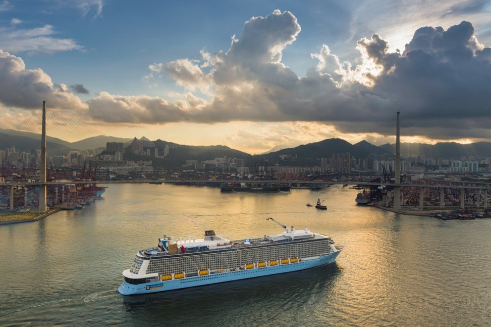 royal caribbean u0027s newest quantum ultra class ship to sail from