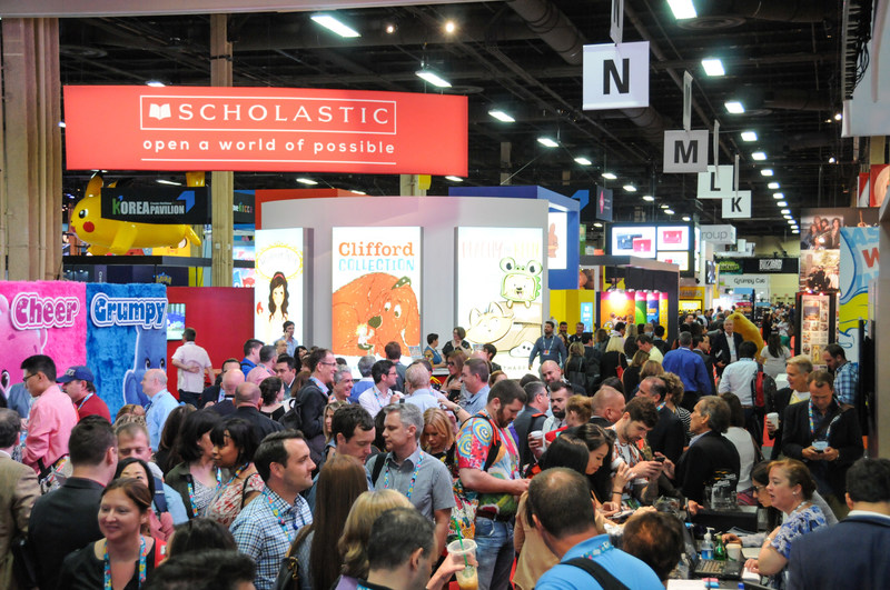 A bustling show floor at Licensing Expo 2016 www.licensingexpo.com
