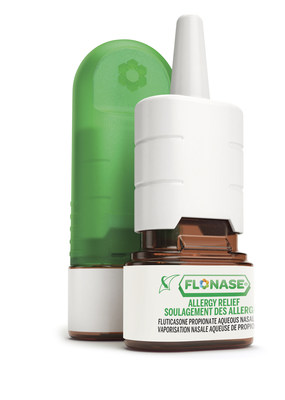 Ceci est la première saison des allergies où les Canadiens peuvent obtenir FLONASE® Soulagement des allergies sans ordonnance. (Groupe CNW/GlaxoSmithKline Inc.)