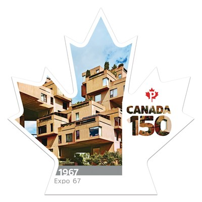 Canada 150 - Expo 67 (Groupe CNW/Postes Canada)