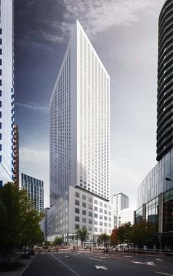 Hyatt Regency Seattle. Image courtesy of LMN Architects.