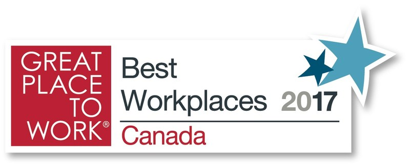 Corby recognized as one of Canada's Best Workplaces for the sixth year in a row. (CNW Group/Corby Spirit and Wine Communications)