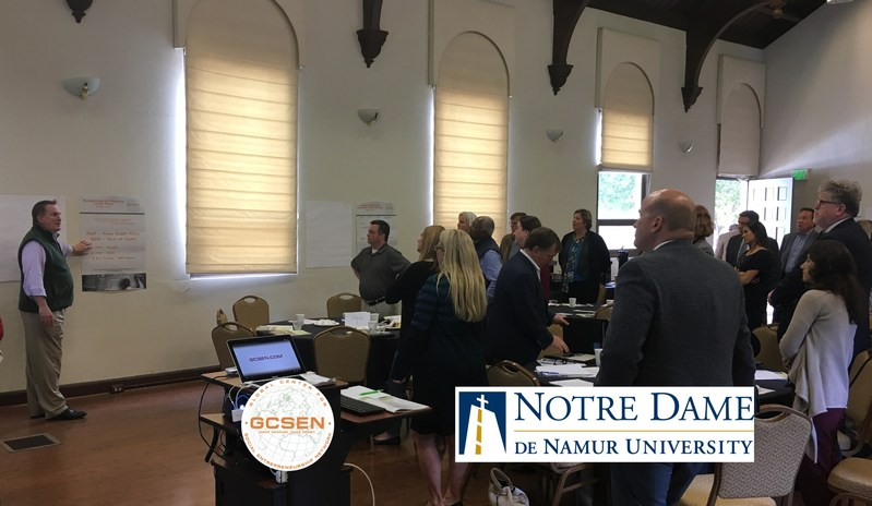 The academic and administrative leadership of Notre Dame de Namur University and the GCSEN Foundation met today to chart a course to accelerate by 10X the Bay Area's College Millennial Social Enterprises by 2027.
