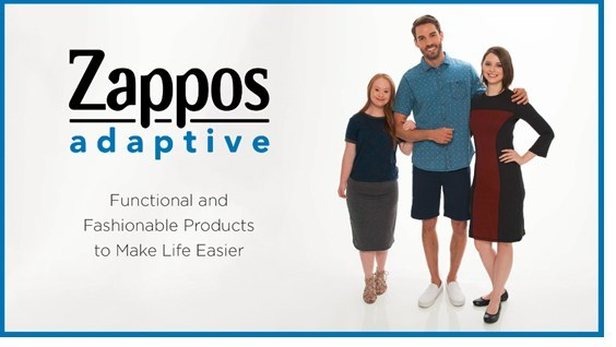 Zappos.com Launches Zappos Adaptive, a Shopping Experience with Functional and Fashionable Products to Make Life Easier