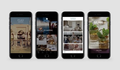 Emaar Hospitality Group 5 Apps (PRNewsfoto/Emaar Hospitality Group)