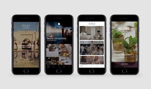 Emaar Hospitality Group 5 Apps (PRNewsfoto/Emaar Hospitality Group)