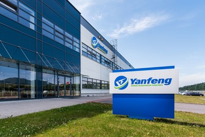 Yanfeng Automotive Interiors launched its new test lab at the company's Trencin technical center in Slovakia (PRNewsfoto/Yanfeng Automotive Interiors)