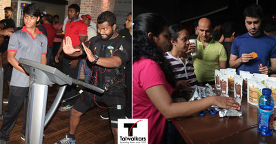 GrowFitter, Talwalkars' Online Fitness and Health Discovery Platform, Organises Morning Fitness Party