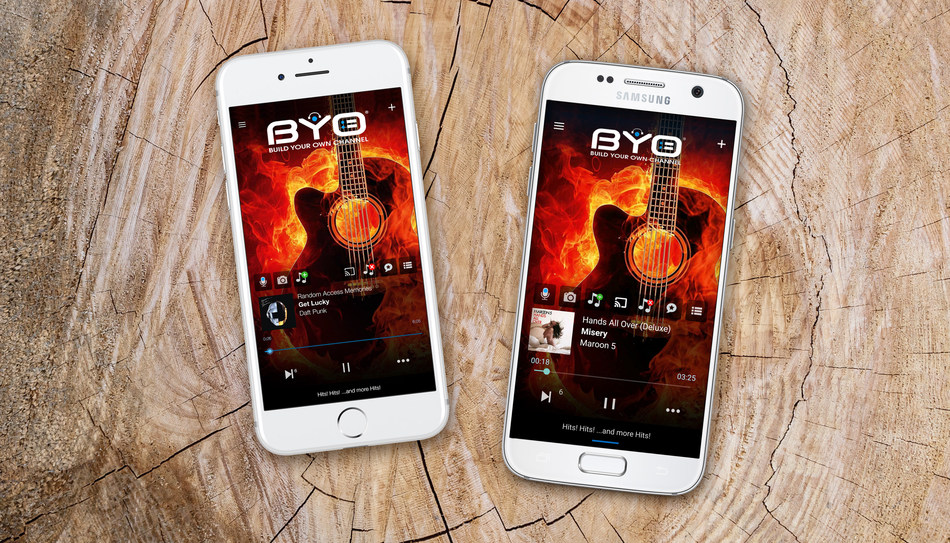 BYO Channel is now available for iPhone and Android smart phones. Download the app NOW from the App Store and Google Play and enjoy the next level of streaming music. For more information, go to byochannel.com.
