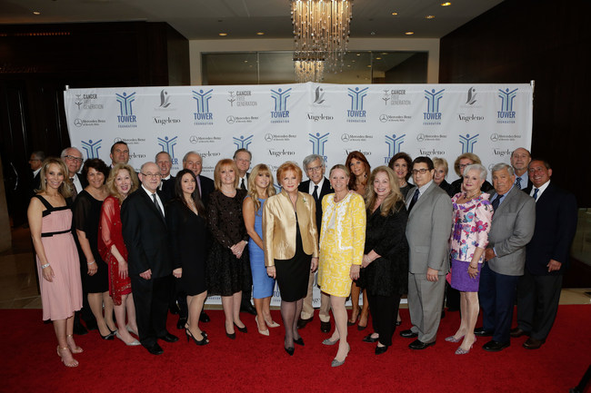 Tower Cancer Research Foundation Board of Directors at Tower of Hope Gala 2016