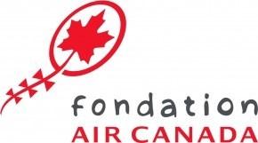Logo : Fondation Air Canada (Groupe CNW/IWK)