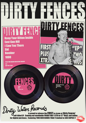 Dirty Water Records Presents Brooklyn's Dirty Fences: 'Sell The Truth' - New Video Single Premiere, EP Release (PRNewsfoto/Dirty Water Records)