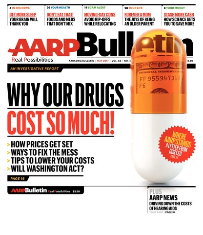 May Issue Cover of AARP Bulletin
