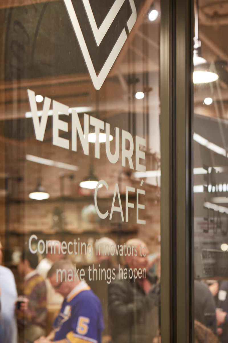 Winston-Salem joins the Venture Café Global Network, which features gatherings in St. Louis, Boston, Miami and Rotterdam, Netherlands. (photo courtesy Wake Forest Innovation Quarter)