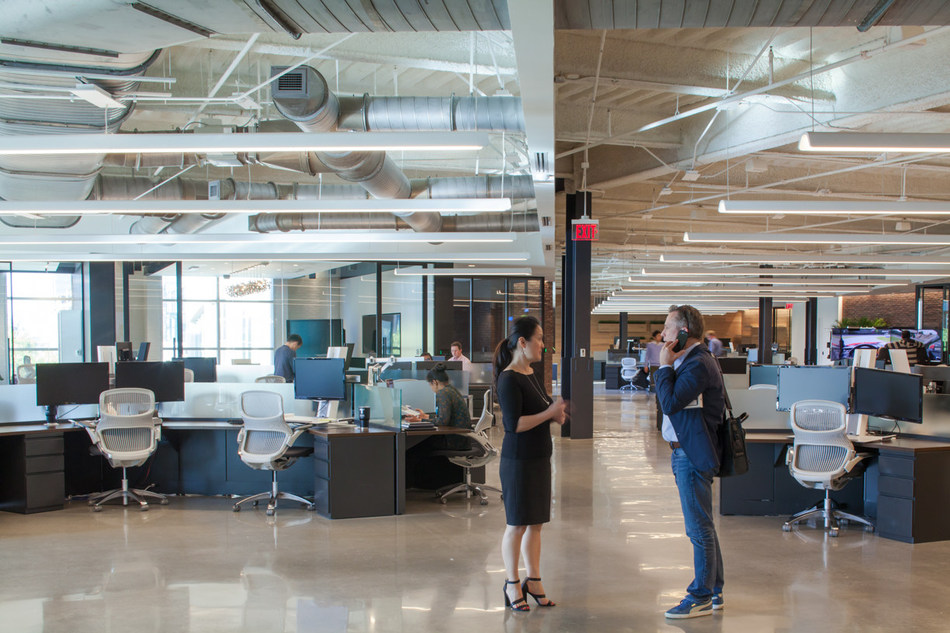 Toyota Connected continues to hire technologists, including data scientists, engineers and software developers, at its Plano office. (Photographer/Michelle Litvin) (Architect/Perkins+Will)