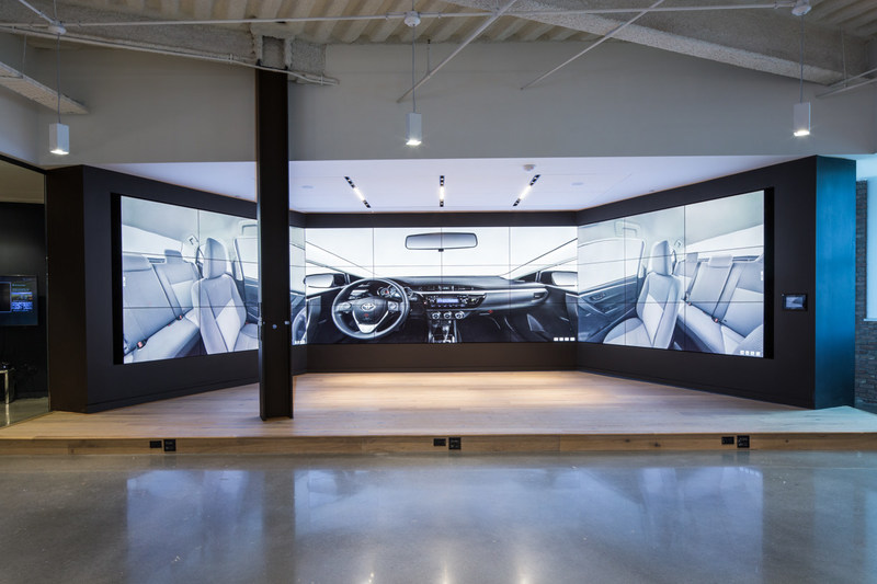 The focus at Toyota Connected is to leverage big data to contextually and intuitively improve services for customers to deliver an amazing experience with Toyota and Lexus brands. (Photographer/Michelle Litvin) (Architect/Perkins+Will)