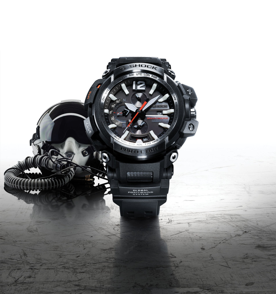 The first-ever Bluetooth connected model in the Master of G series, the GRAVITYMASTER GPW2000-1A .