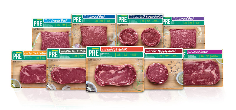 PRE Brands, purveyors of the world's tastiest 100 percent grass fed, pasture raised beef, has expanded its retail presence to include Shaw's and Starr supermarkets and Jet.com, and added 1/3 lb. hamburger patties to the portfolio. Visit www.pre-brands.com to find PRE near you.