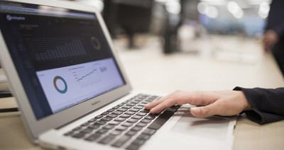 Les données recueillies par un accélérateur d'entreprises seront automatiquement affichées sur son tableau de bord visuel et adaptable, ce qui facilite l'analyse des incidences et la production de rapports. (Groupe CNW/The Lazaridis Institute)