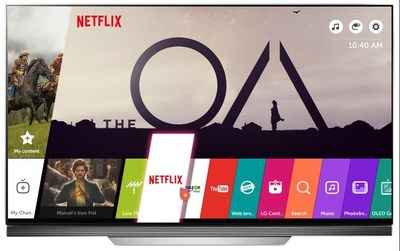 THREE MONTHS OF NETFLIX PREMIUM PLAN INCLUDED WITH LG 4K UHD TV PURCHASE (CNW Group/LG Electronics Canada)