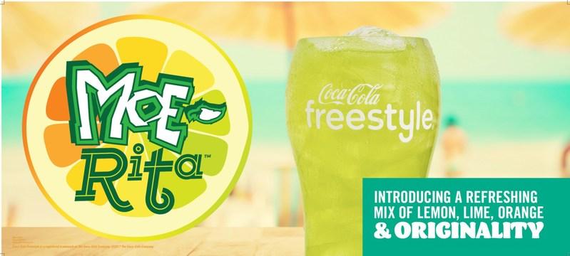 Moe's newest beverage, the Moe-Rita, combines limeade, lemonade, orange and original flavors for a refreshing margarita-inspired sip.