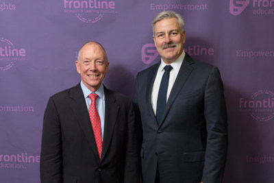 Ted Mitchell and Frontline Education CEO, Tim Clifford