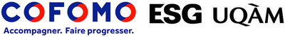 Logos : Cofomo et ESG UQAM (Groupe CNW/Cofomo)