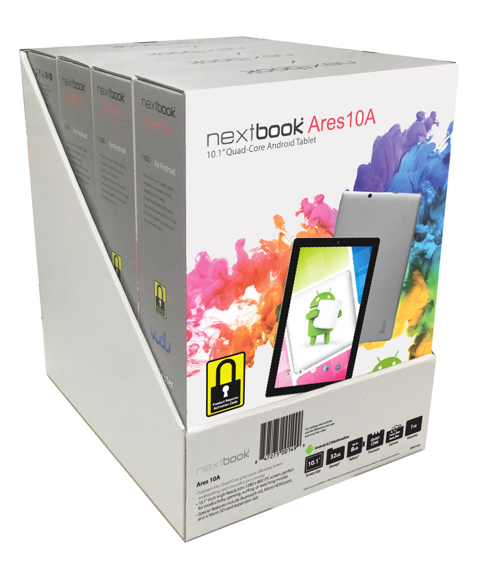 E FUN's DiSa PoSA digital asset protection-enabled Nextbook tablets will help retailers sell more products and increase profit margins