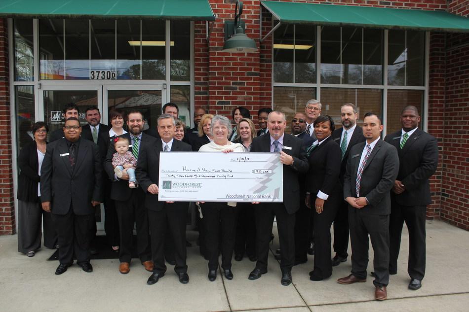 Woodforest National Bank donates $30,000 to Hurricane Matthew Carolinas Relief Fund