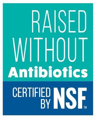 NSF International的無抗生素飼養認證有助於消費者確認不會導致耐抗生素細菌滋生的各種產品