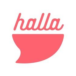 halla-- let the food find you.