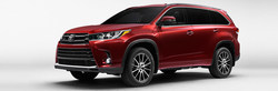 The 2017 Toyota Highlander comes equipped with Toyota Safety Sense(TM)