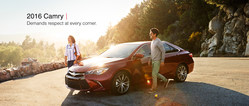 The 2016 Toyota Camry is available now at Truro Toyota.
