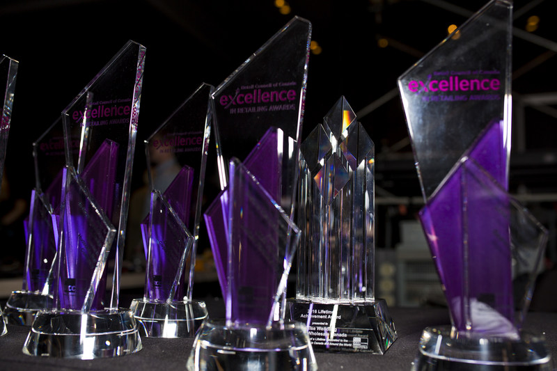 Excellence in Retailing Awards celebrate the most creative and innovative retailers in Canada. (CNW Group/Retail Council of Canada)