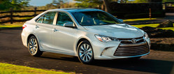 The 2017 Toyota Camry is available not at Allan Nott Toyota.