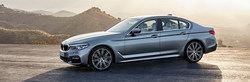 The redesigned 2017 BMW 5 Series sedan is featured in several online research resources from The New BMW of Topeka.
