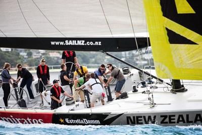 Auckland fait montre d'une solide innovation sportive dans le domaine de la voile (PRNewsfoto/ATEED)