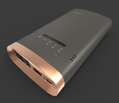 Linxs, world's smartest mobile router & sensor hub (PRNewsfoto/New Tinxs)