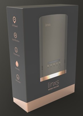 Linxs, world's smartest mobile router & sensor hub (PRNewsfoto/New Tinxs Inc)
