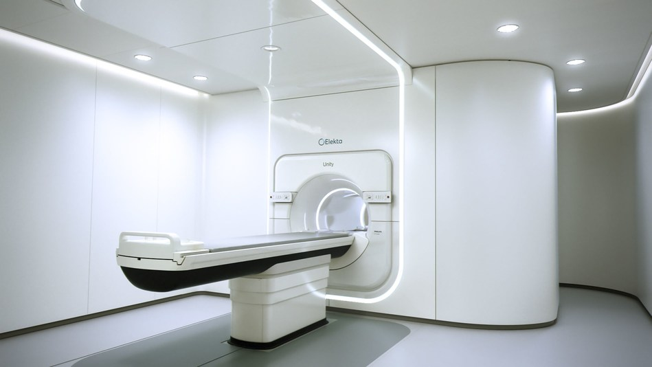Elekta Unity is the only MRT system that integrates a premium diagnostic quality (1.5 Tesla) MRI scanner with an advanced linear accelerator and intelligent software. (PRNewsfoto/Elekta)