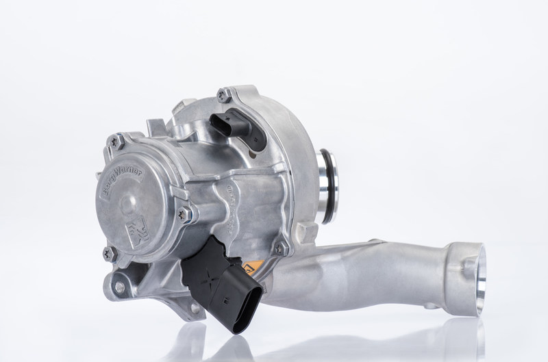 BorgWarner's eBooster® electrically driven compressor contributes to enhanced performance and improved fuel efficiency.
