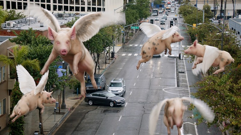"""""""Flying Pigs"""" video marks arrival of the all-new 2017 Chrysler Pacifica Hybrid"""