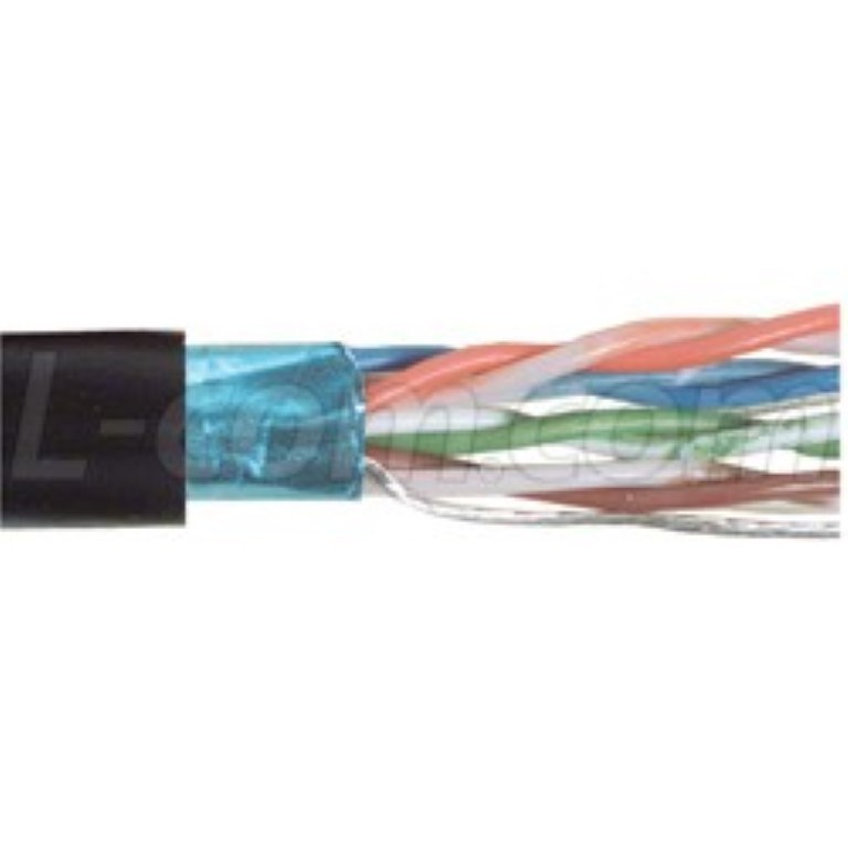 Outdoor-Rated Category 6a, 6 and 5e Bulk Cable for Harsh Environments