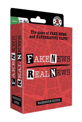 Fake News / Real News: The Game of Fake News and Alternative Facts Debuts to Commemorate Administration's 100th Day