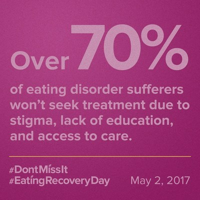 "Eating Recovery Center's New ""Don't Miss It"" Campaign Sheds Light on the Dangerous Risks of an Eating Disorder and Inspires Hope for Those Affected"