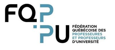 Logo: FQPPU (Groupe CNW/Fédération québécoise des professeures et professeurs d'université)